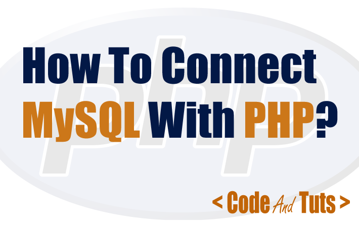 connect mysql with PHP