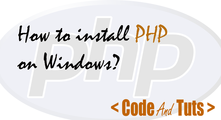 install-php-on-windows