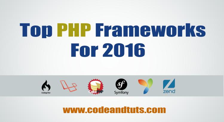 best php framework 2016