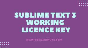 sublime-text 3-licence-key
