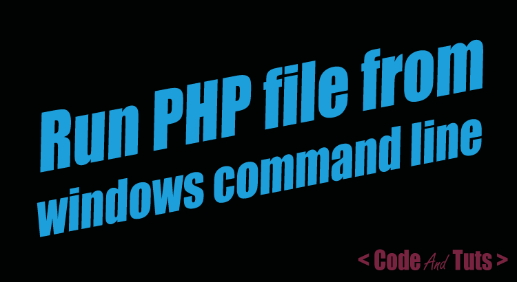 run-php-file-from-windows-cmd-line