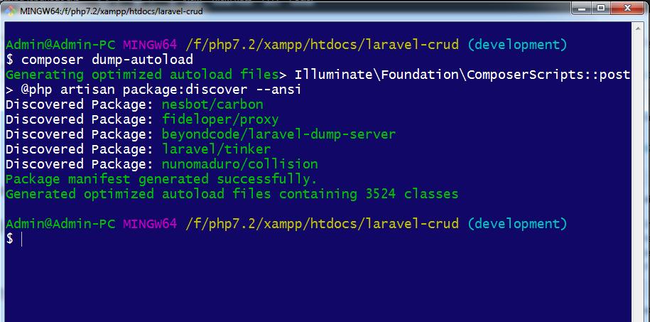 composer-dump-autoload-output