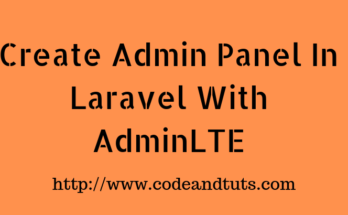create-admin-panel-in-laravel
