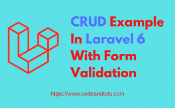 crud-example-in-laravel-6